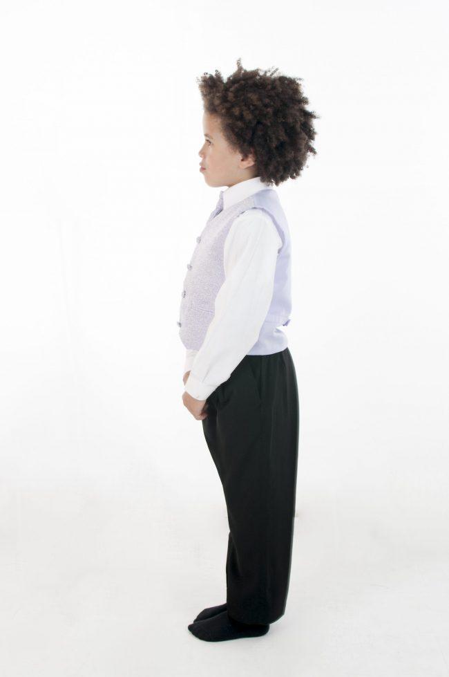 4 Piece Vivaki Swirl Suit in Lilac-857