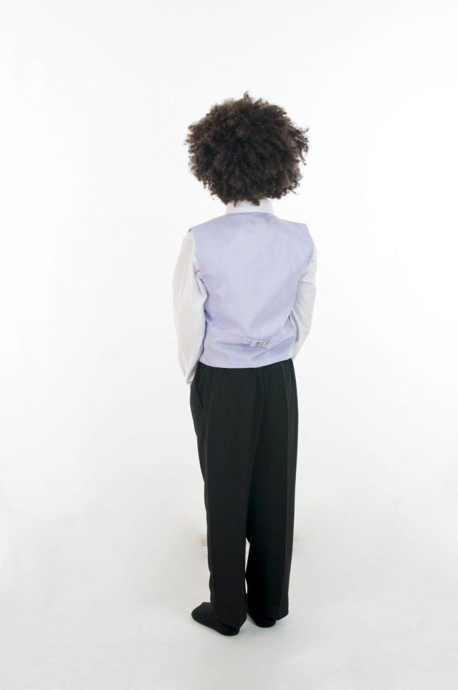 4 Piece Vivaki Swirl Suit in Lilac-854