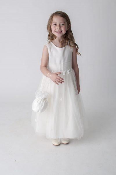 Visara Butterfly Dress In Ivory W327-0