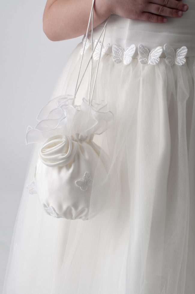 Visara Butterfly Dress In Ivory W327-317