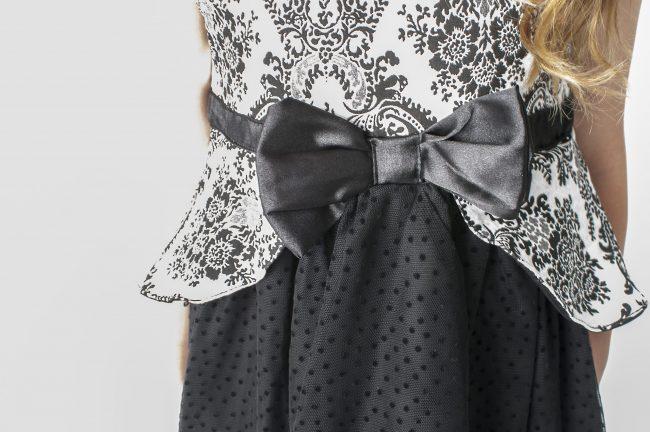 Visara Black Dress-326