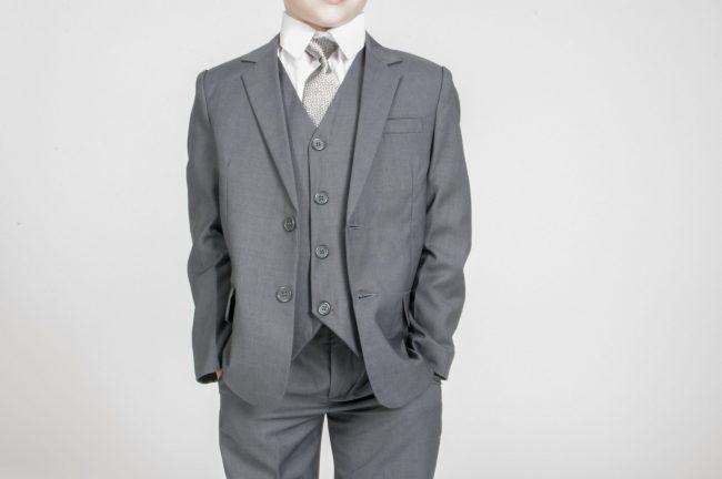 Vivaki 5 Piece Suit in Grey-869
