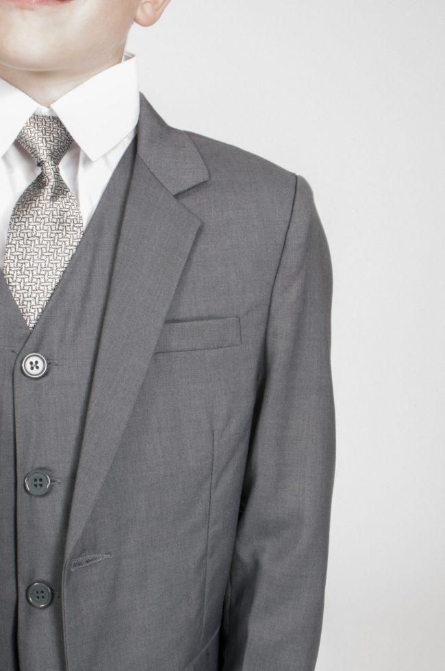 Vivaki 5 Piece Suit in Grey-872