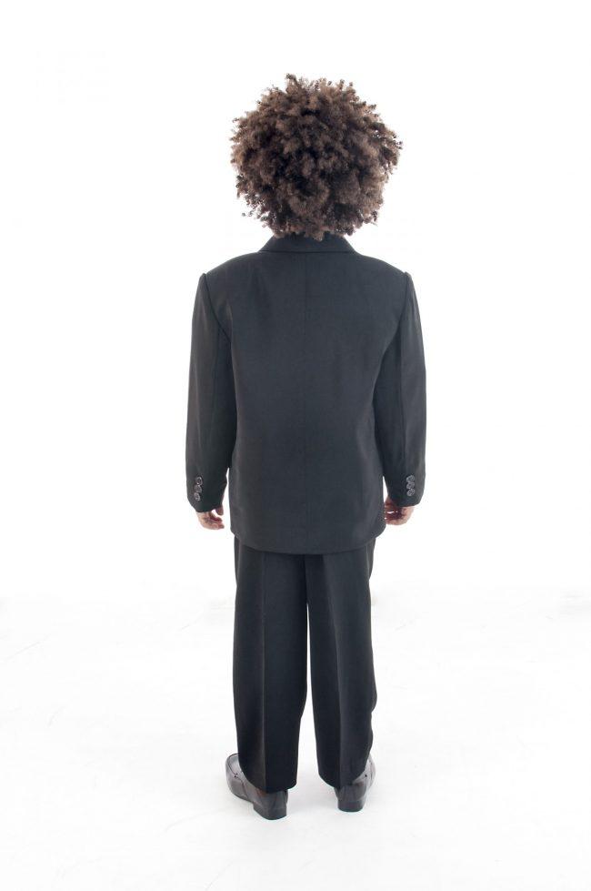 Vivaki 5 Piece Dobby Suit in Lilac-826