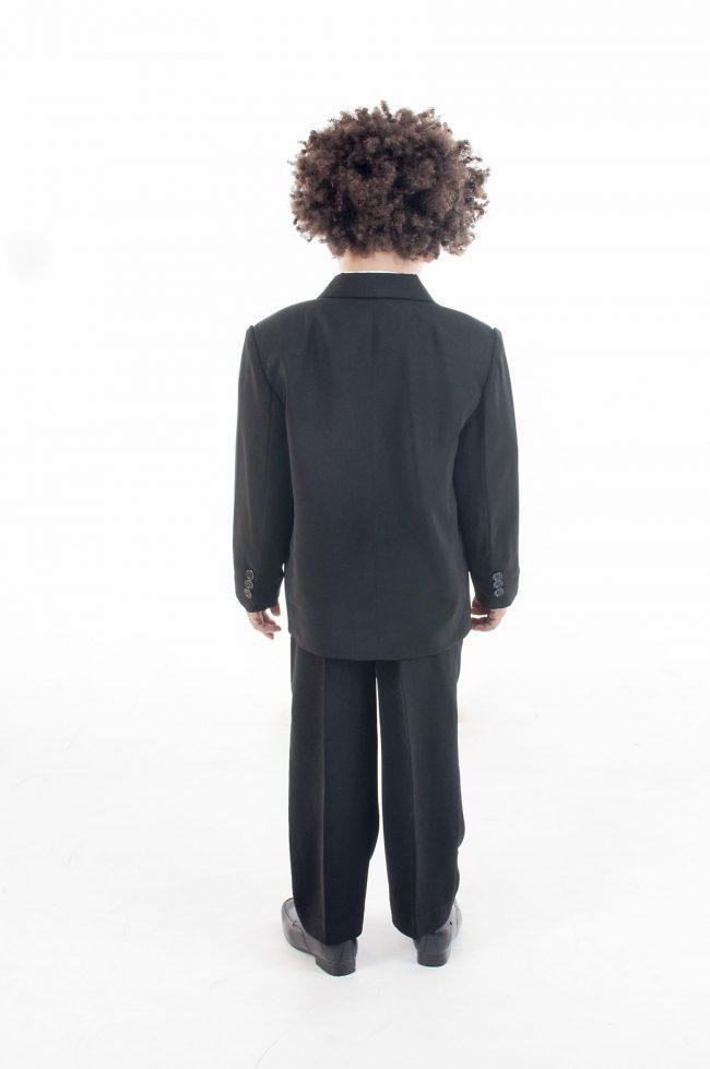 Vivaki 5 Piece Dobby Suit in Cream-848