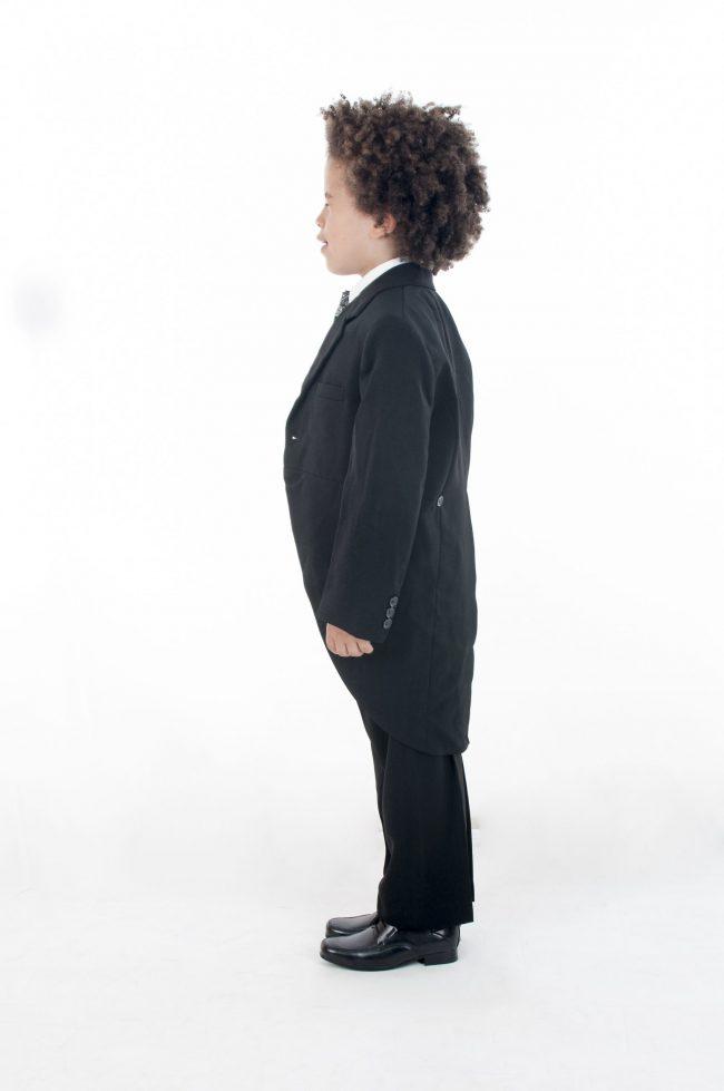Vivaki 5 Piece Silver Paisley Tail Suit -465