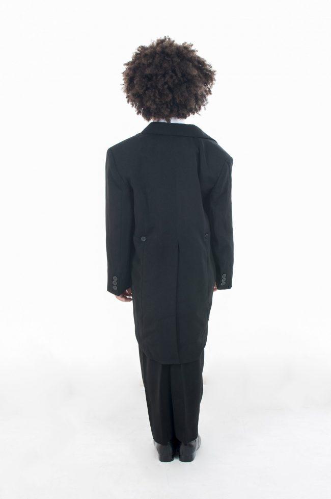 Vivaki 5 Piece Silver Paisley Tail Suit -464