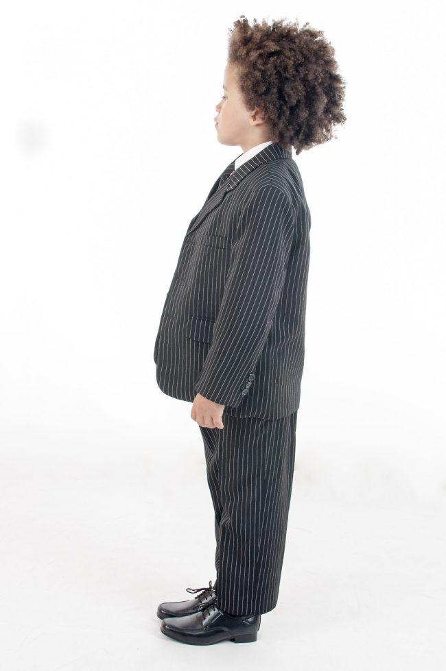 Vivaki 5 Piece Pinstripe Suit-860