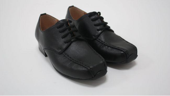 Boys Vivaki Harry Shoes in Black-218