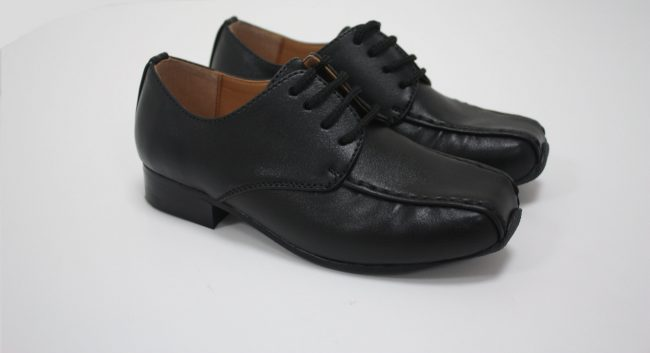 Boys Vivaki Harry Shoes in Black-216