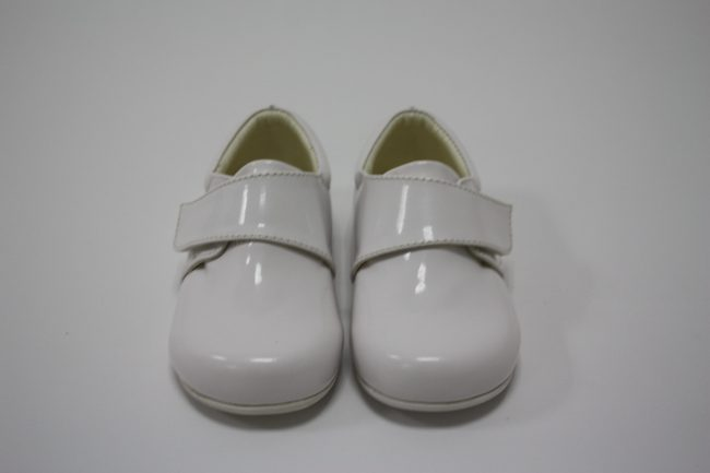 Boys Early Steps Prince Shoes in White-130