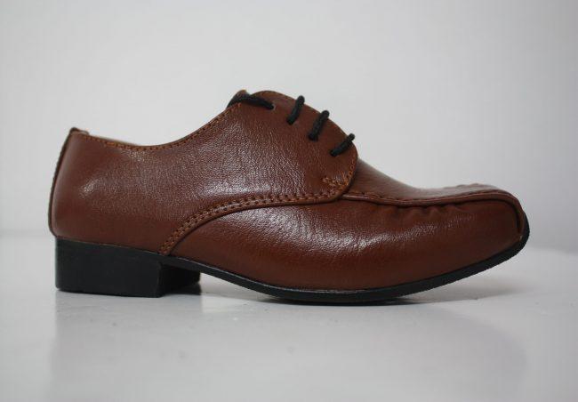 Boys Vivaki Harry Shoes in Brown-223