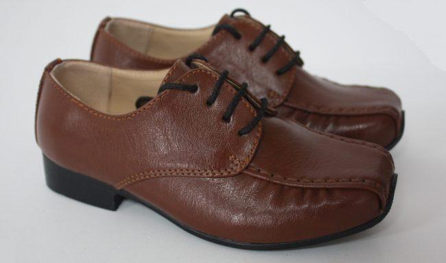 Boys Vivaki Harry Shoes in Brown-225