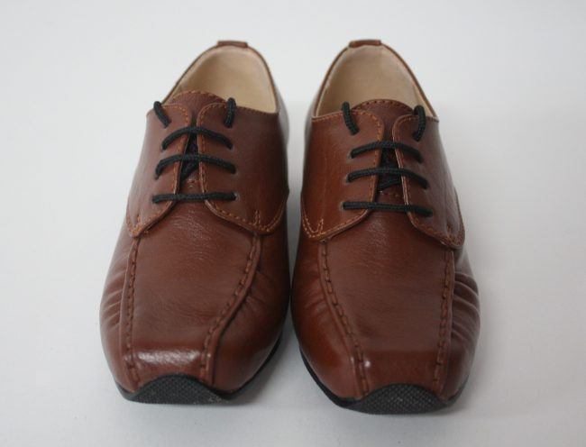 Boys Vivaki Harry Shoes in Brown-226