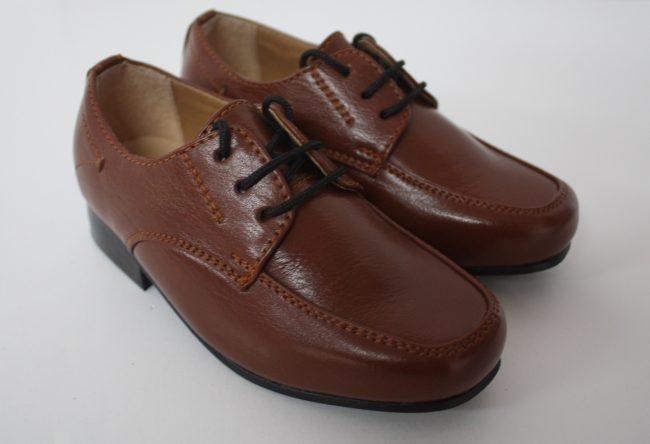 Boys Vivaki William Shoes in Brown-0