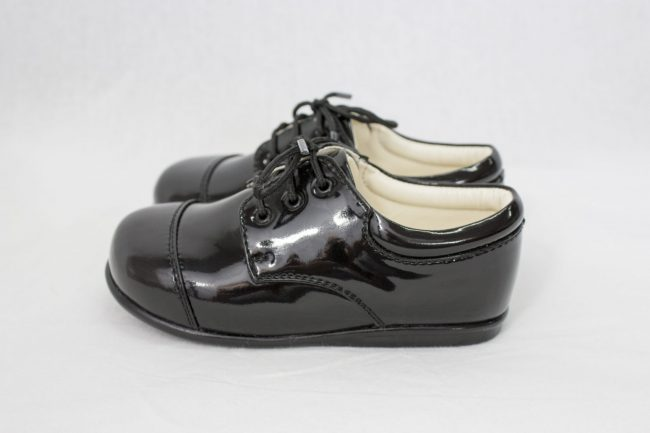 Boys Early Steps Royal Shoes in Black-962