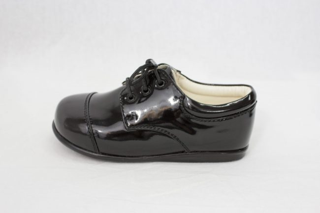Boys Early Steps Royal Shoes in Black-959