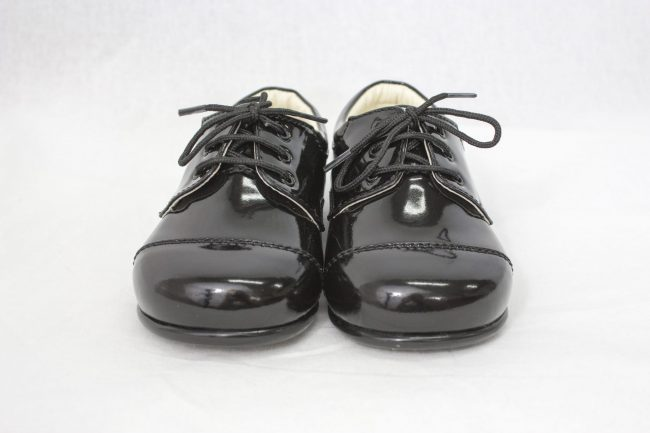 Boys Early Steps Royal Shoes in Black-964