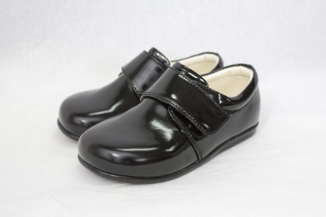 Boys Early Steps Prince Shoes in Black-935