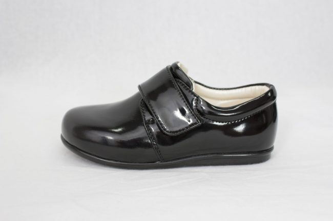 Boys Early Steps Prince Shoes in Black-939