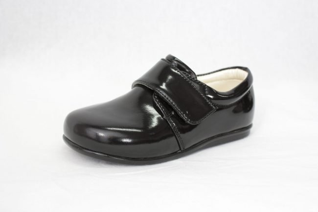 Boys Early Steps Prince Shoes in Black-940