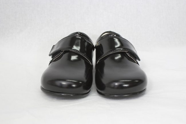 Boys Early Steps Prince Shoes in Black-938