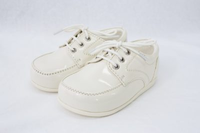 Boys Early Steps Royal Shoes in Cream-0