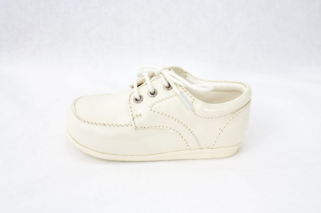 Boys Early Steps Royal Shoes in Cream-958