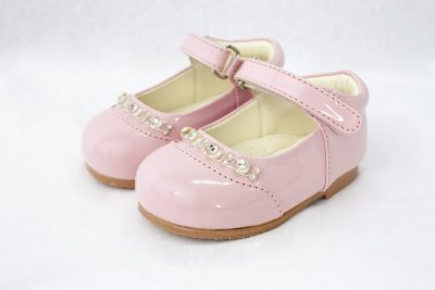 Girls Early Steps Diamond Shoes in Pink-0