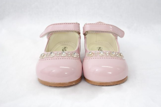 Girls Early Steps Diamond Shoes in Pink-934
