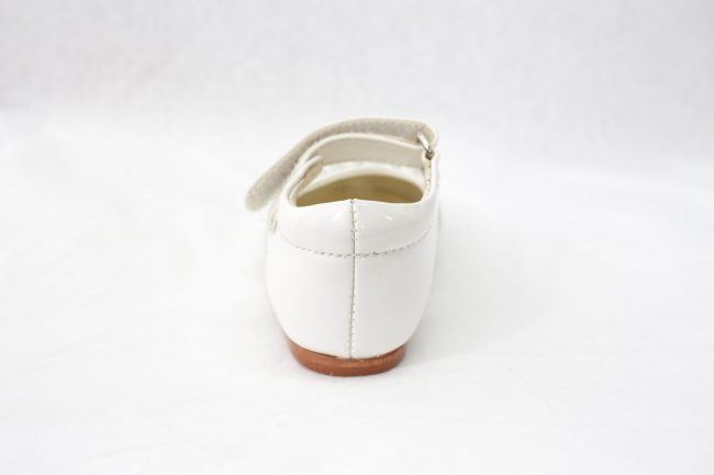 Girls Early Steps Diamond Shoes in White-918