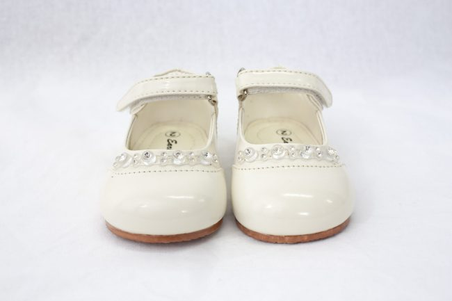 Girls Early Steps Diamond Shoes in Cream-927