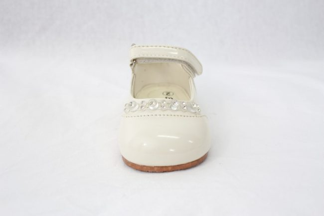 Girls Early Steps Diamond Shoes in Cream-924