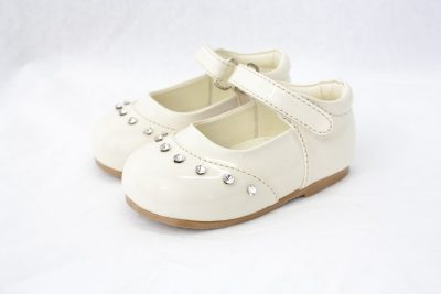 Girls Early Steps Fairy Shoes in Cream-0