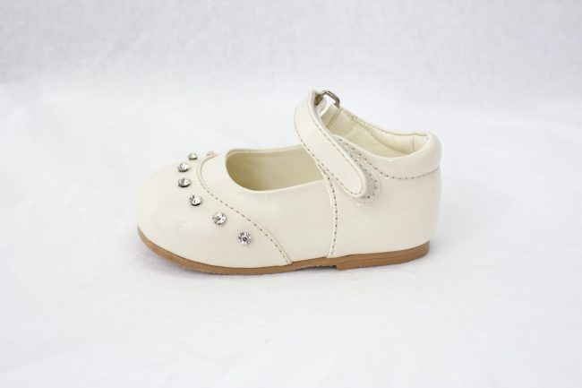 Girls Early Steps Fairy Shoes in Cream-892