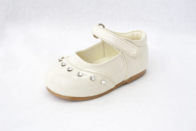 Girls Early Steps Fairy Shoes in Cream-890