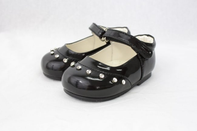 Girls Early Steps Fairy Shoes in Black-0