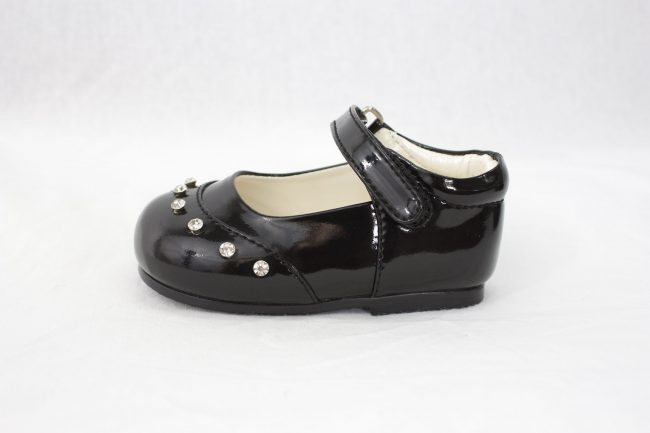 Girls Early Steps Fairy Shoes in Black-909