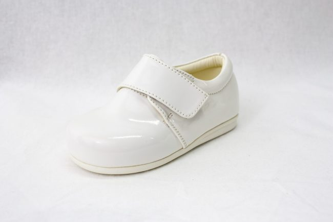 Boys Early Steps Prince Shoes in White-978