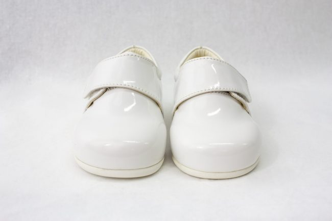Boys Early Steps Prince Shoes in White-982