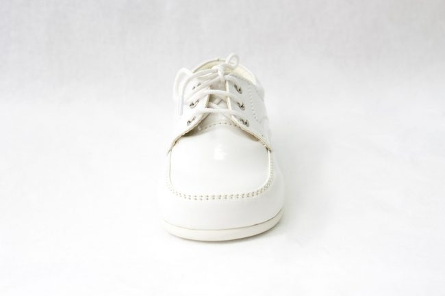 Boys Early Steps Royal Shoes in White-995