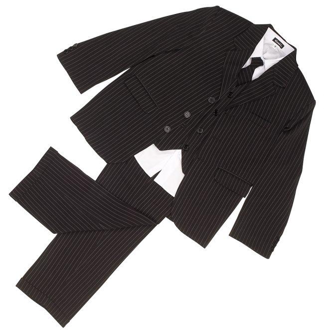 Vivaki 5 Piece Pinstripe Suit-98