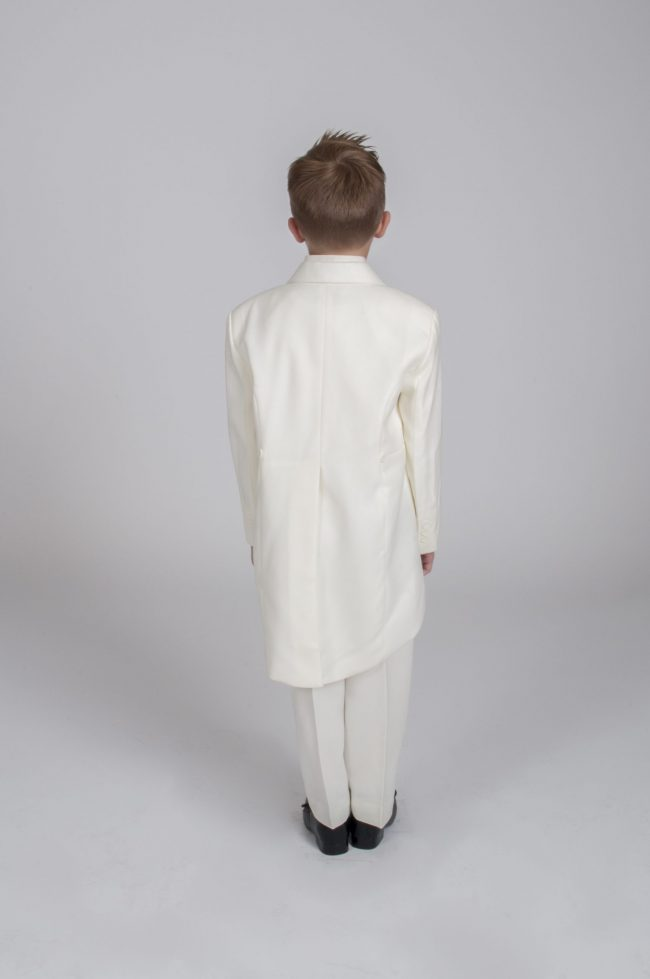 Vivaki 5 Piece Tail Suit in All Cream-485