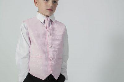 4pc Black Diamond Suit in Pink-0
