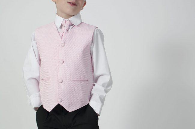4pc Black Diamond Suit in Pink-640