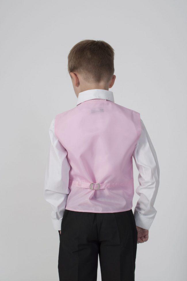 5pc Black Diamond Suit in Pink-673