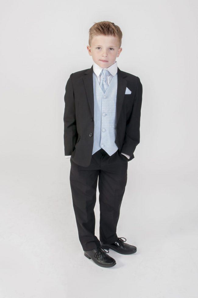 5pc Black Diamond Suit in Blue-0