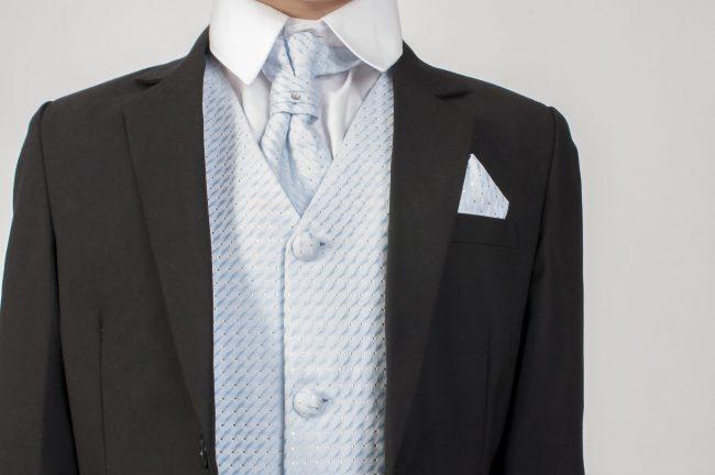5pc Black Diamond Suit in Blue-763