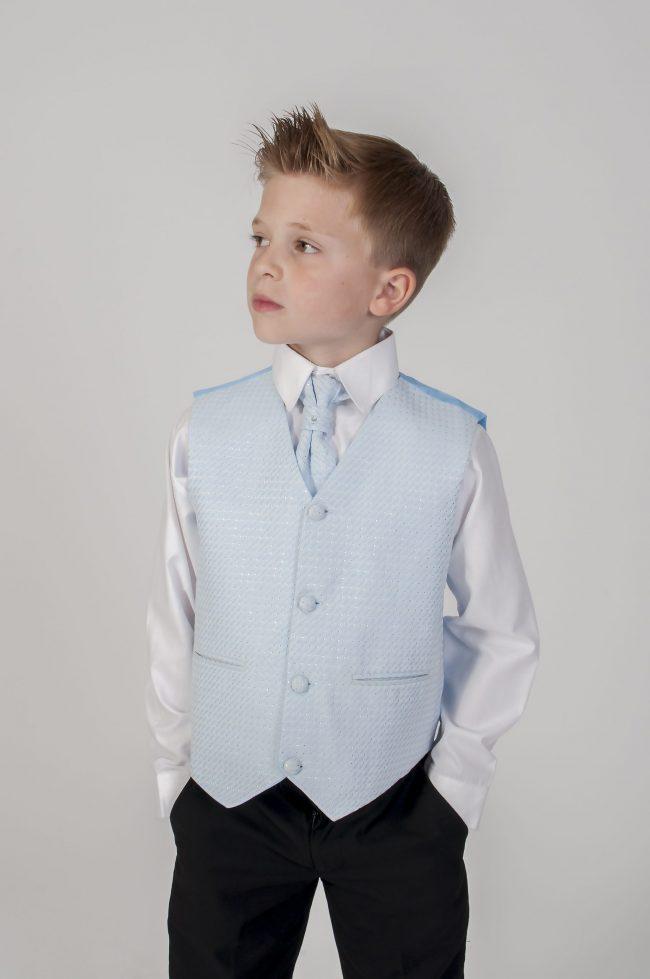 4pc Black Diamond Suit in Blue-0