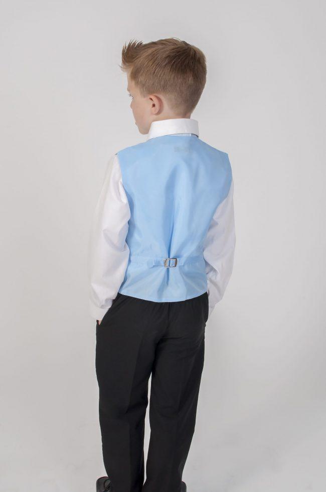 4pc Black Diamond Suit in Blue-776